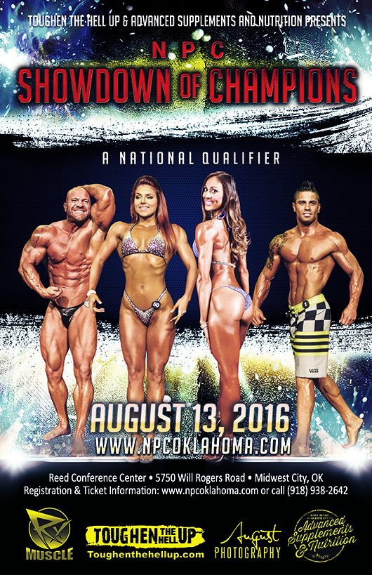 2016 Showdown of Champions Poster