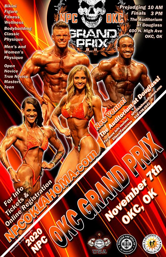 2020 OKC Grand Prix Poster